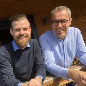 Øivind Augland og Martin Morfjord